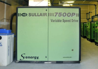 100 HP Sullair S-energy model 7509P Single Stage Rotary Screw Air Compressor