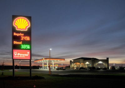 Northwest Pump turned bare farm land in Pasco, WA into an appealing gas station and C-Store.