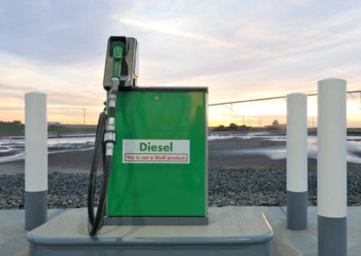 Northwest Pump supplied a Gilbarco Legacy series dispenser.
