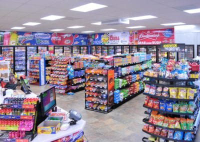 Lil Pantry's primary business is based on it's large C-Stores. NWP faced competition from suppliers from California and Oregon.